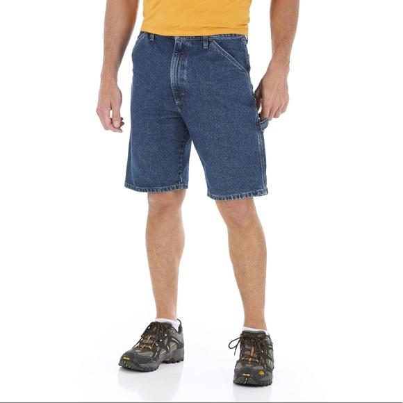 2c3622bc Wrangler Shorts | Sz 46 Measures 43 Carpenter Jean | Poshmark